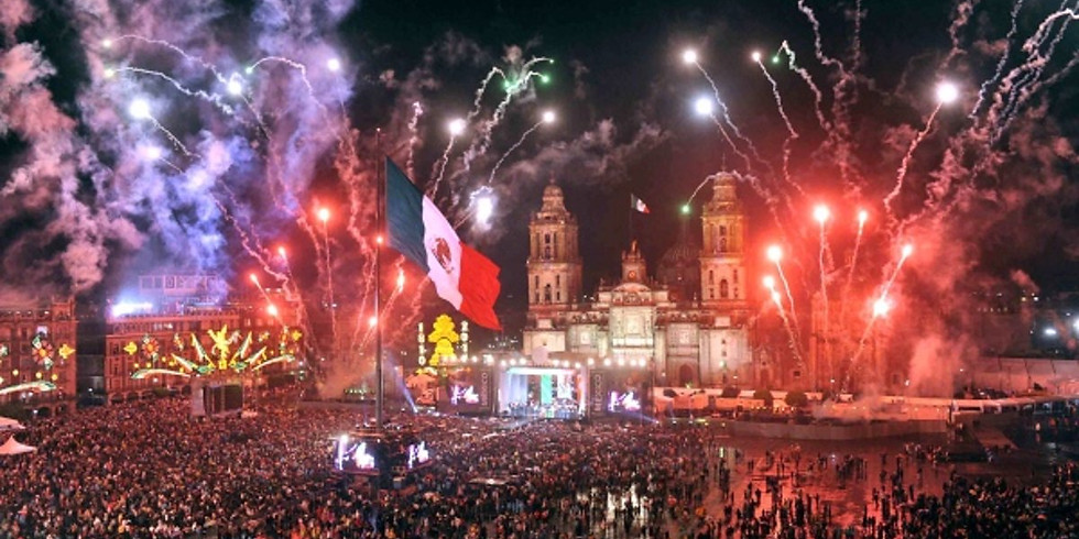 Sep. 15- Mexico's Independence!