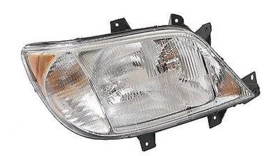 Dodge Headlamp Assembly (Passenger side, w/out fog lamp)