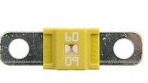 Fuse (60 Amp, Yellow)
