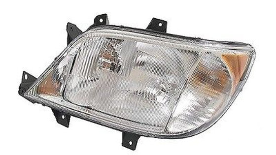 Headlamp Assembly (Left/Drivers side, Dodge/MB, w/out Fog Lamp)