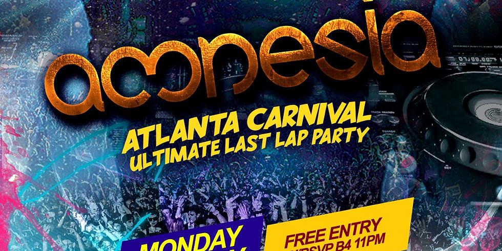"Amnesia ""Atlanta Carnival Official Last Lap"""
