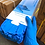 Thumbnail: NITRILE PROTECTIVE RUBBER GLOVES - BLUE