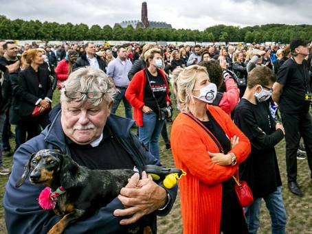 Coronaprotest in Den Haag verboden, organisatoren stappen naar rechter