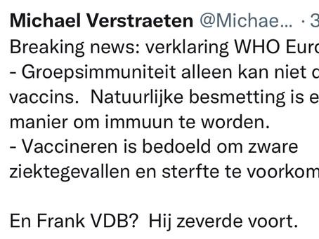 WHO uit twijfels over de coronavaccins