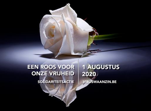 Oproep: 1/08: Wil u aub. een roos neerleggen?