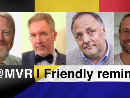We blijven Marc Van Ranst en Jaap Van Dissel uitnodigen voor een debat