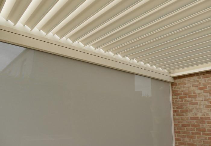 Corradi Bioclimatics Alba: 4 m x 7,6 m