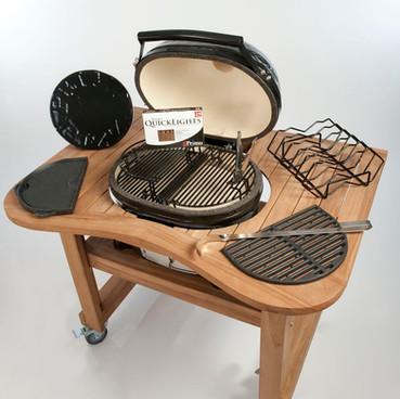 PRIMO CERAMIC BBQ - Haarden de la Meilleure