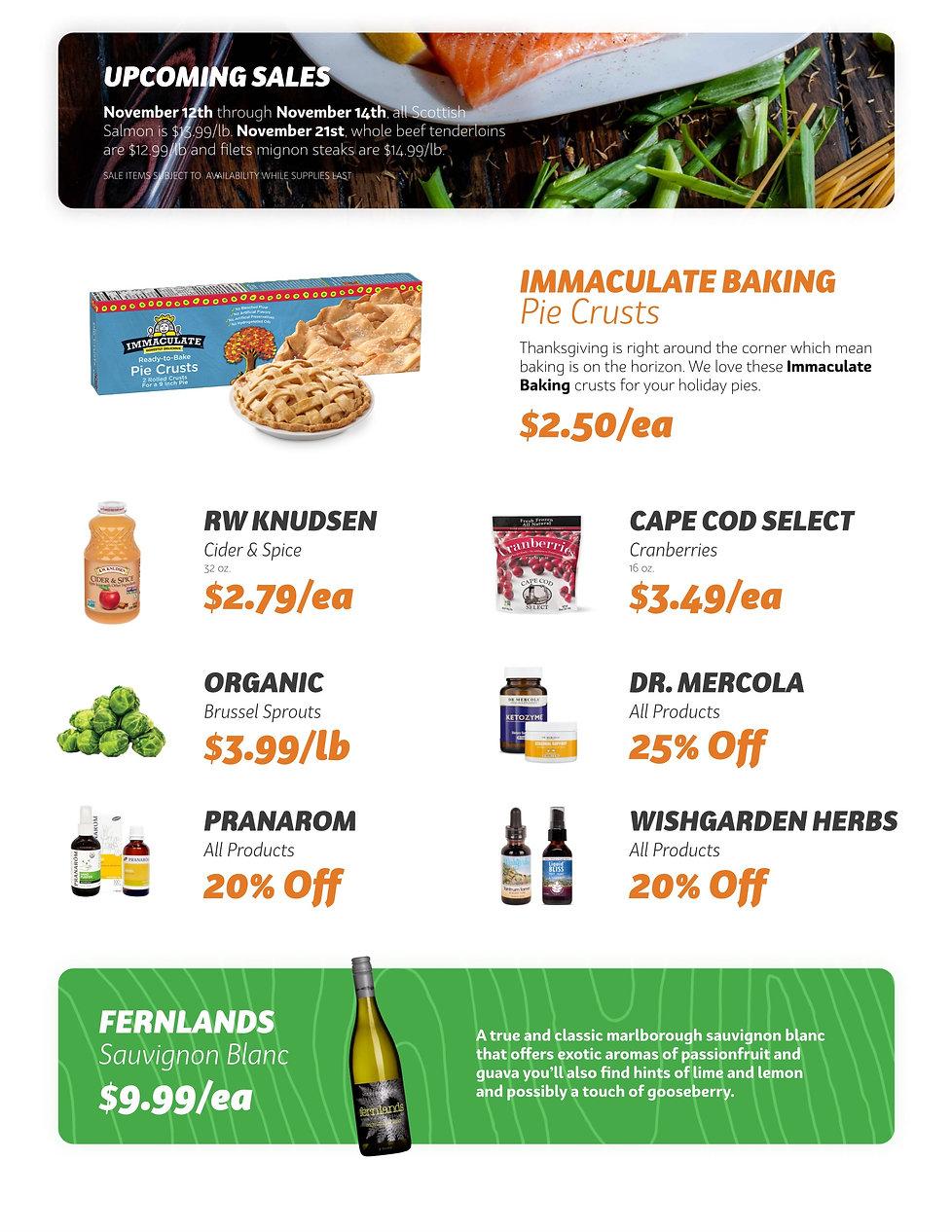 Fresh Savings - November 11th - Page Two