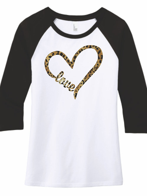 Cheetah Heart with love