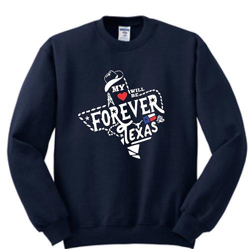 Forever Texas Sweat Shirt