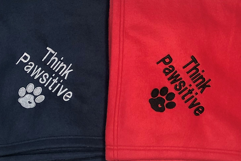 Think Pawsitive Blanket Discontinued Special