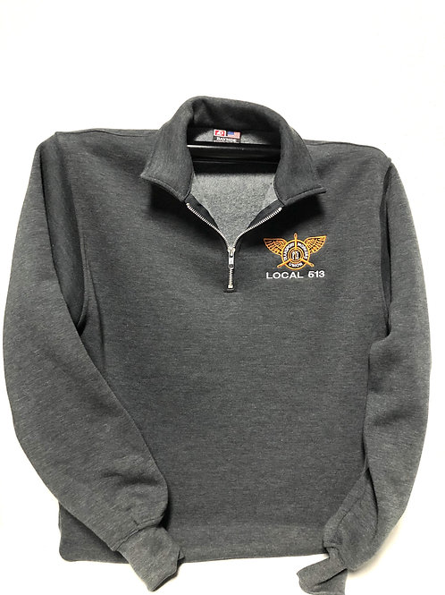 Bayside 1/4 Zip Fleece with Left Chest Logo