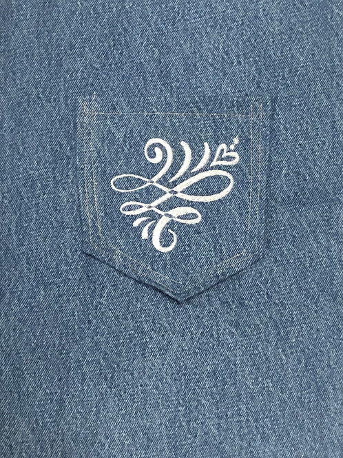 Flying Heart Back Pocket Design