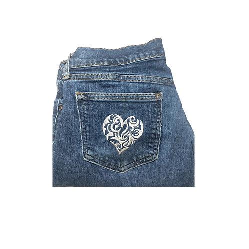 Filigree Heart Pocket