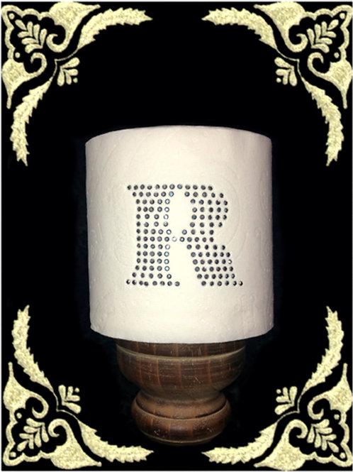 Rhinestone Monogram Toilet Paper