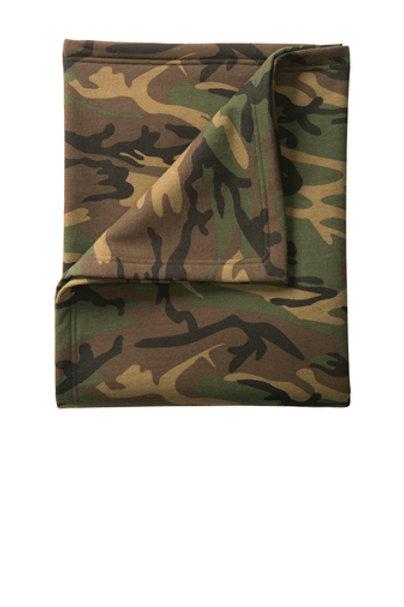 Camo Fleece Sweatshirt Blanket