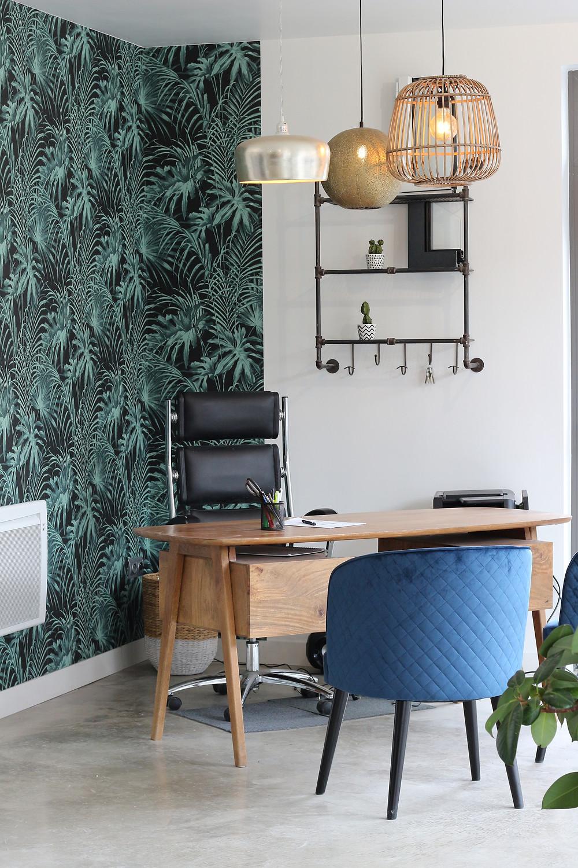 maison du monde alinéa décoration intérieure design jungle papier-peint style exotique industriel leroy merlin
