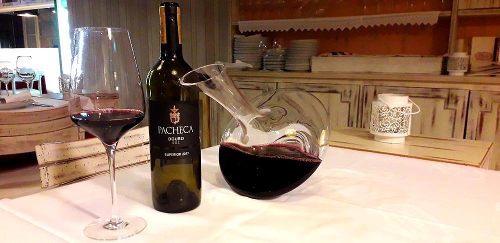 Restaurant Ponte de Lima Portugal Vinho Verde Quinta da Pacheca Douro wine tasting