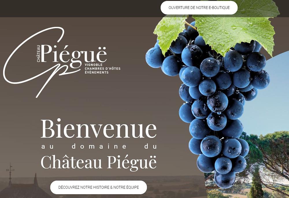 Organisation, structure et création de contenu, anglais et français du site Internet support marketing et communication