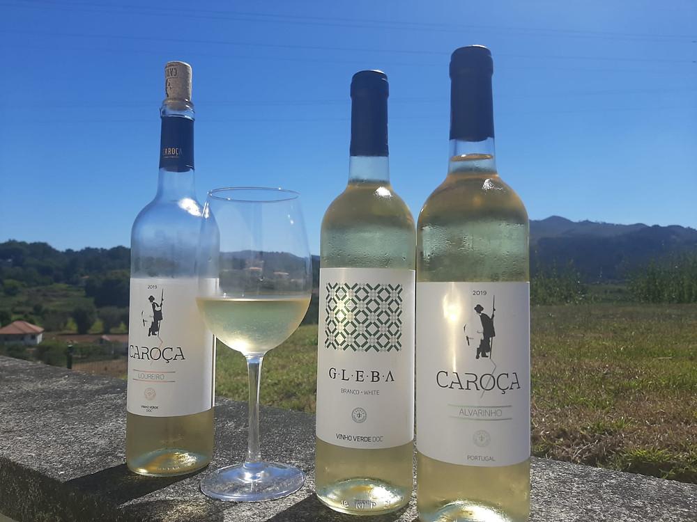 caroça wines et aphros wines