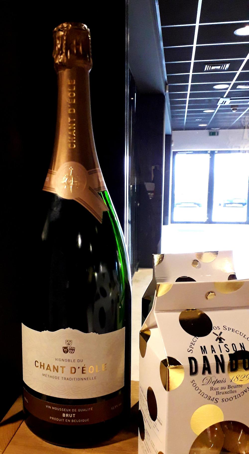 Domaine du Chant d'Eole, meilleure bulle du monde 2019 face à la Champagne, en Belgique, près de Mons