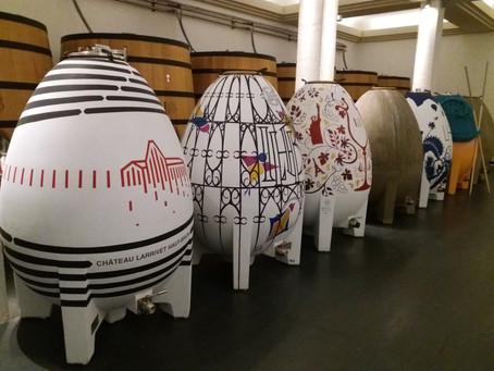 Les « ovnis » débarquent dans les caves à Bordeaux !