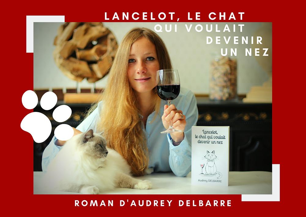 Lancelot le chat qui voulait devenir un nez dégustation voyage vin oenologie examen wset intuitive lacher prise