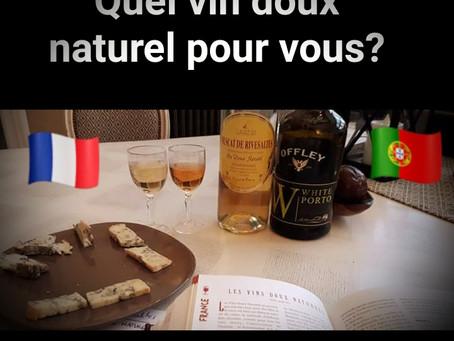 Face à face dans les vins doux naturels (English below)