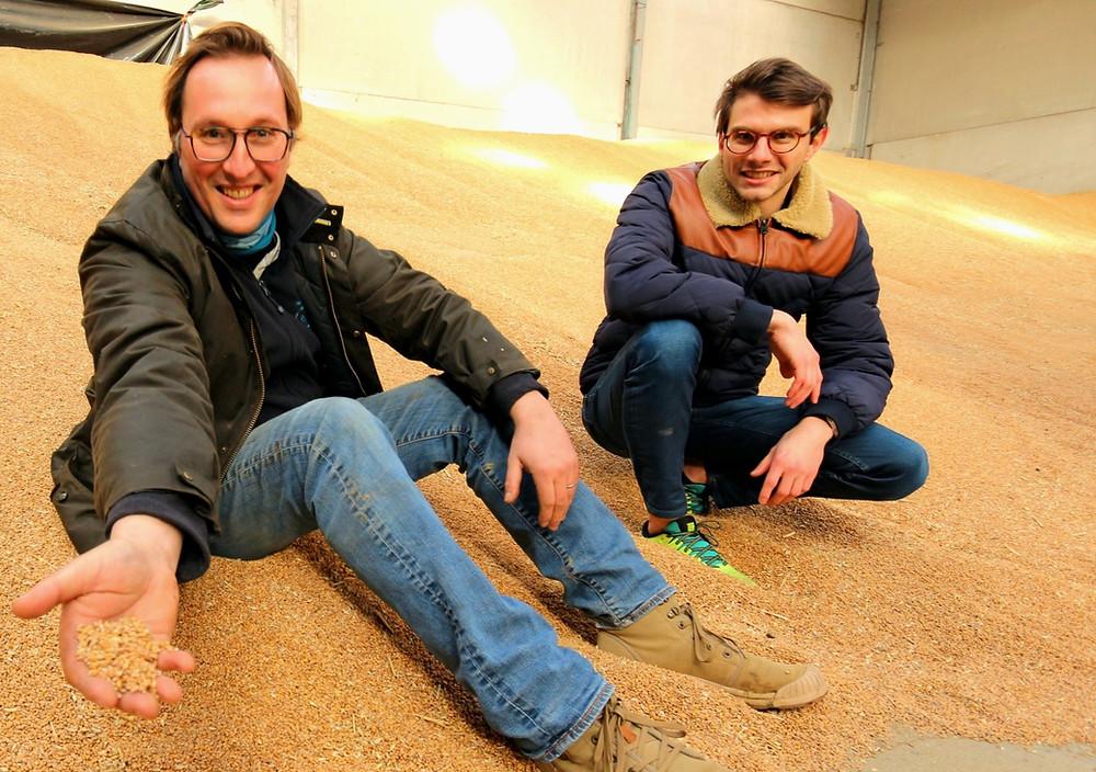 Ferme Sainte Barbe Belgique agriculture ecoresponsable biosolutions avec Agricells greentech et biotech