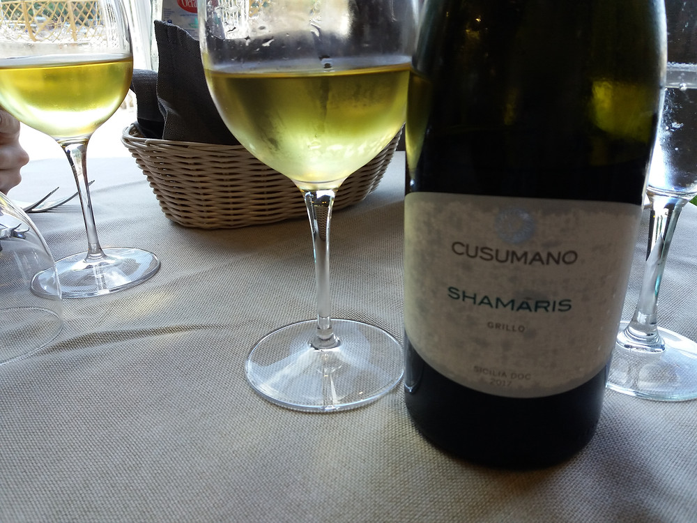 Grillo; La Cambusa, Castellammare del Golfo, Sicilia, wine, vino