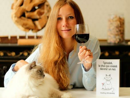 Un chat amoureux du vin?