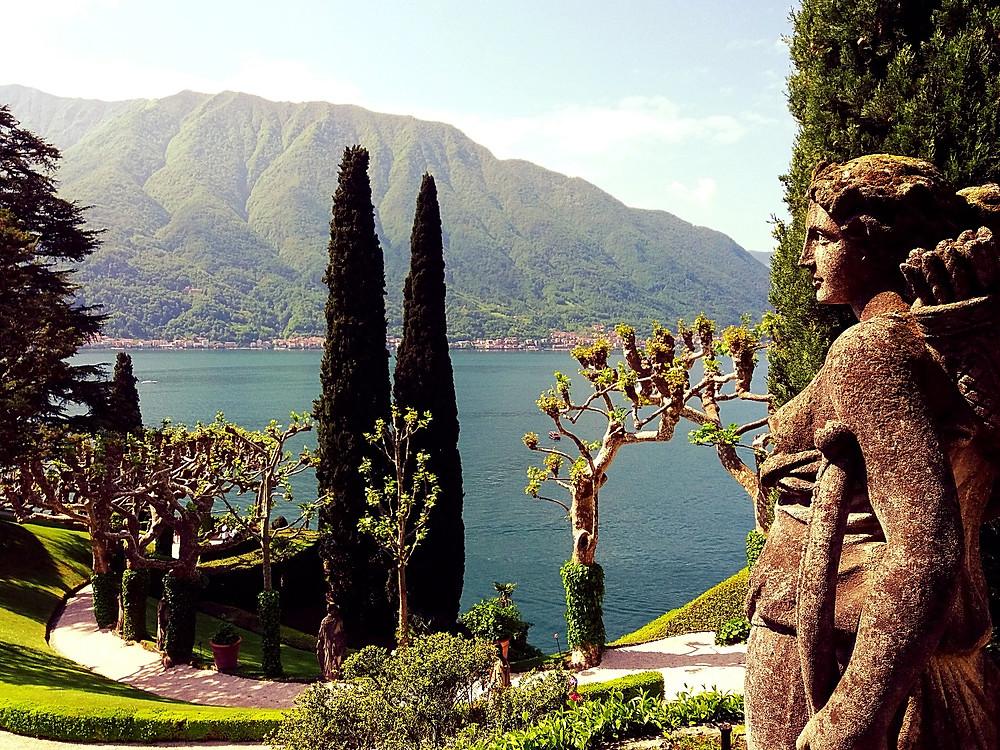 villa Del Balbianello, Lac de Côme, Italie