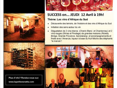 Succès pour le premier évènement « La Petite Nénette » autour des vins d'Afrique du Sud