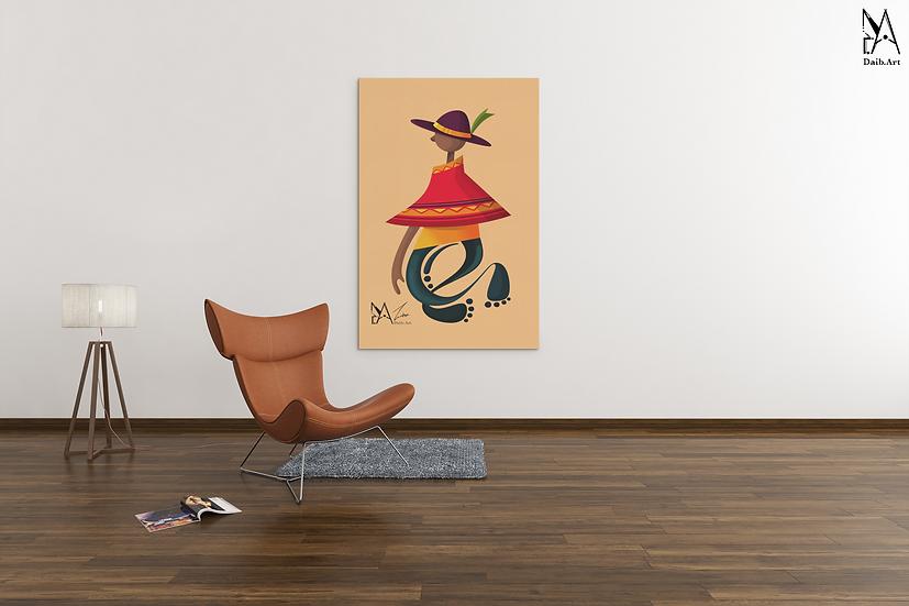 Daib.Art X Lord_Kpuri: Villager Canvas