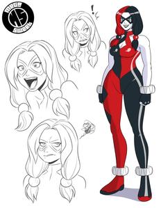 Harley Costume Redesign