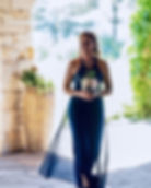 @lovinglifecara Wearing her bridesmaids