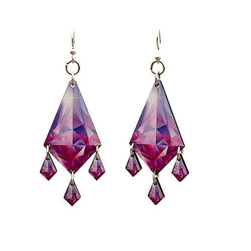 Dripping Diamond Earrings #T081