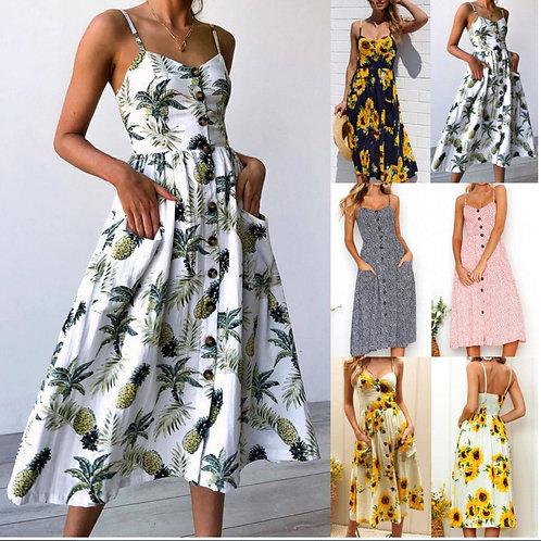Retro Sun Dress