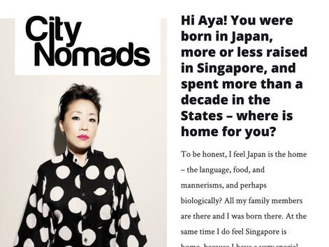 CITYNOMADS Interview [Jan 25th 2017]