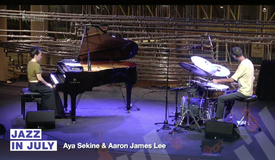 Jazz In July w/Aaron James Lee