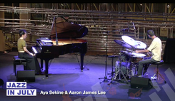 Jazz In July w/Aaron James Lee