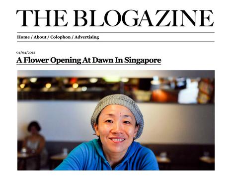 The Blogazine Interview [2012]