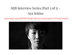 SIJB Interview Series [10 Sept 2018]