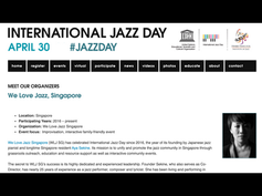 'MEET OUR ORGANIZERS' jazzday.com [2019]