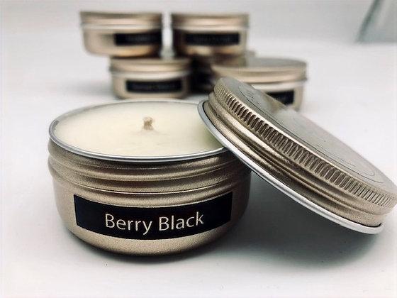 Berry Black Mini Candle