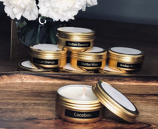 Cocoboo Mini Candle (Gold) NEW VERSION