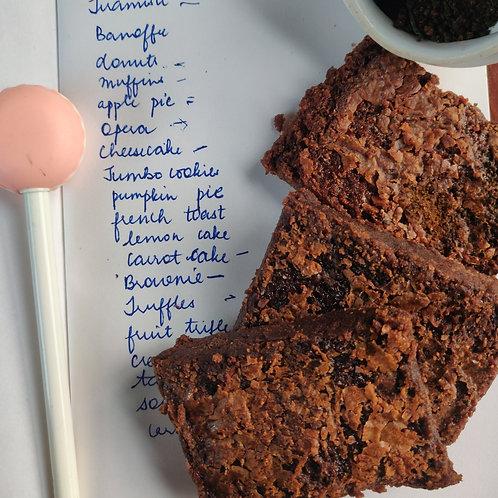 Plain chocolate Brownie