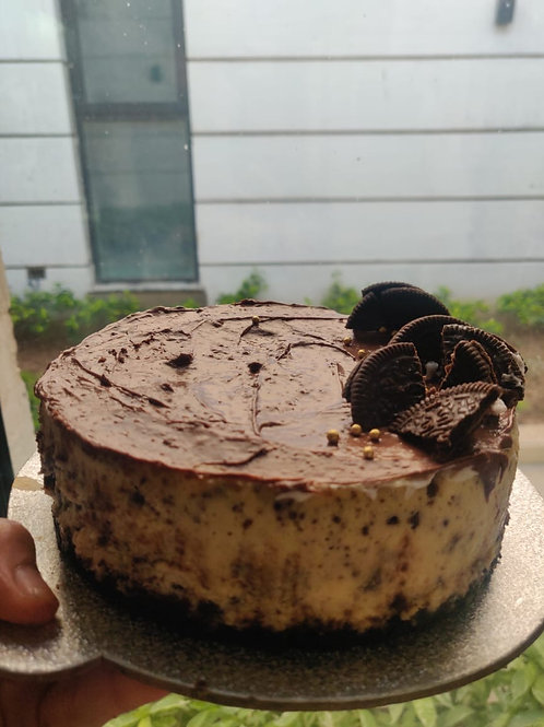 Oreo and Nutella Cheesecake