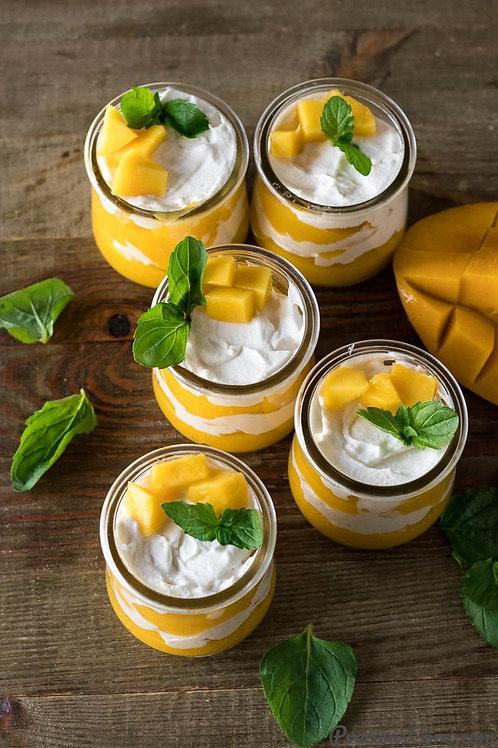 Fresh Mango pudding